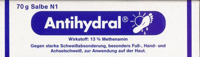 ROBUGEN GmbH Pharmazeutische Fabrik ANTIHYDRAL Salbe 70 g 00052729