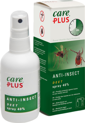 Tropenzorg B.V. CARE PLUS Deet Anti Insect Spray 40% 100 ml 00564978