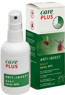 Tropenzorg B.V. CARE PLUS Deet Anti Insect Spray 40% 60 ml 00567379