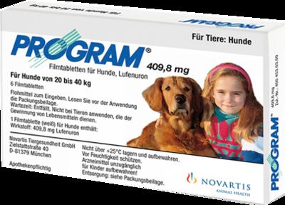 Elanco Deutschland GmbH PROGRAM 409,8 mg 20-40 kg Tabl.f.Hunde 6 St