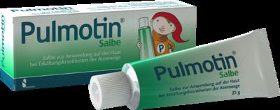 Serumwerk Bernburg AG PULMOTIN Salbe 25 g 01565098