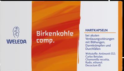 BIRKENKOHLE comp.Hartkapseln 50 St