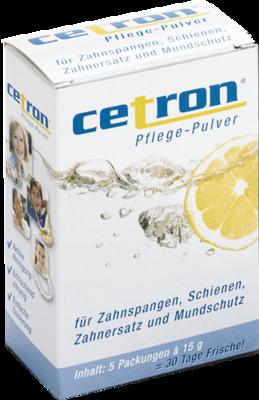 Scheu-Dental GmbH CETRON Reinigungspulver 5X15 g 03038380
