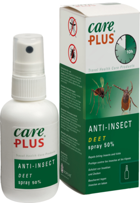 Tropenzorg B.V. CARE PLUS Anti-Insect Deet Spray 50% 60 ml 09893761