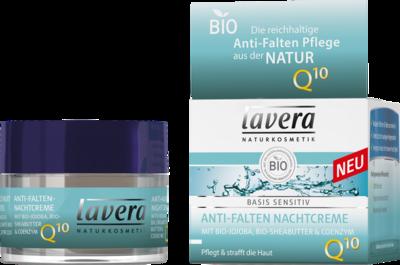 LAVERANA GMBH & Co. KG LAVERA basis sensitiv Nachtcreme Q10 dt 50 ml 10787751