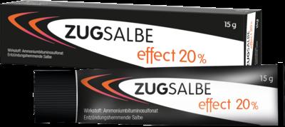 INFECTOPHARM Arzn.u.Consilium GmbH ZUGSALBE effect 20% Salbe 15 g 11517516