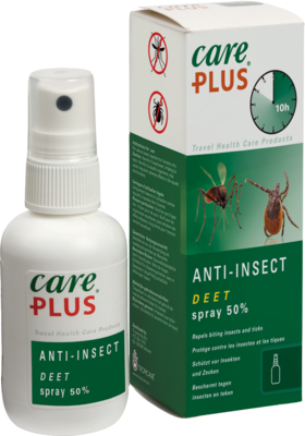 Tropenzorg B.V. CARE PLUS Anti-Insect Deet Spray 50% 200 ml 12731223