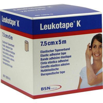 LEUKOTAPE K 7,5 cm hautfarben 1 St