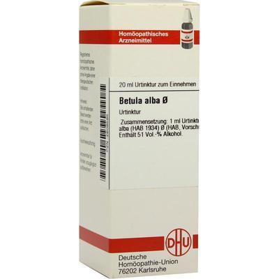 BETULA ALBA Urtinktur 20 ml