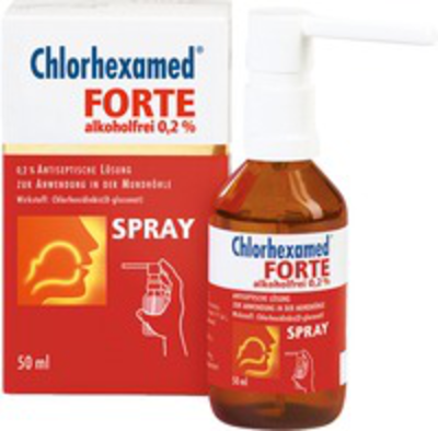 CHLORHEXAMED FORTE 0,2% L'sung 50 ml