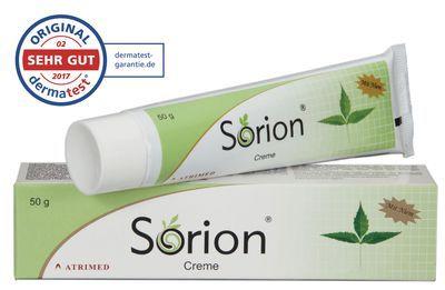 Ruehe Healthcare GmbH SORION Creme 50 g 10132866