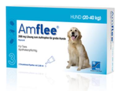 AMFLEE 268 mg Spot-on Lsg.f.gro'e Hunde 20-40kg 3 St