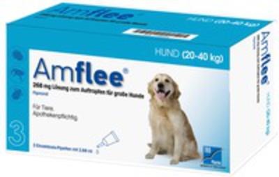 AMFLEE 268 mg Spot-on Lsg.f.gro'e Hunde 20-40kg 6 St