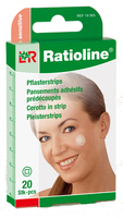 RATIOLINE sensitive Pflasterstrips rund